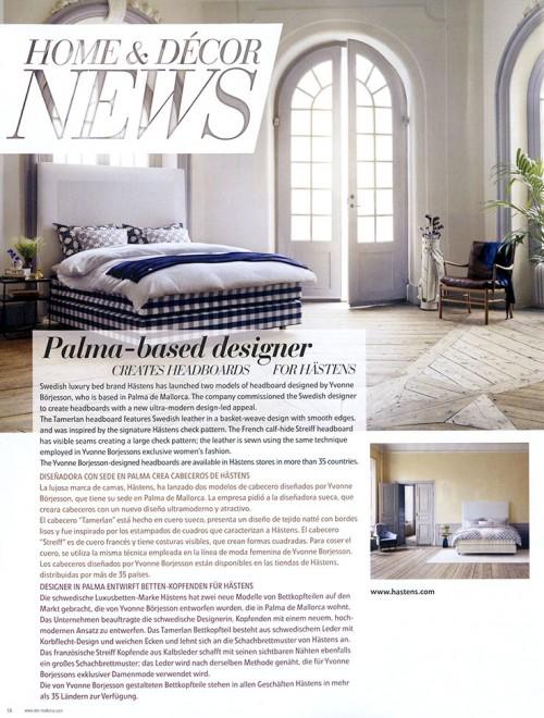 Home Couture Press, Yvonne Börjesson, Hästens