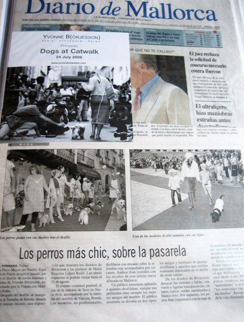 Yvonne Borjesson Chien Chic Press, Diario de Mallorca
