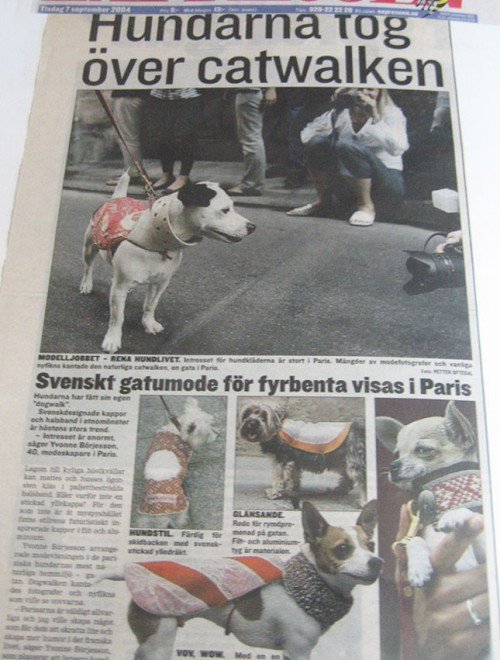 Yvonne Borjesson Chien Chic Press, Expressen