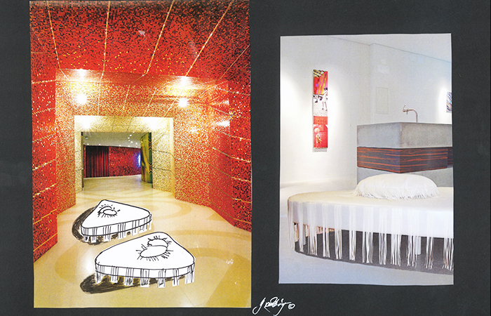 Ideas for hall hotel, Yvonne Borjesson