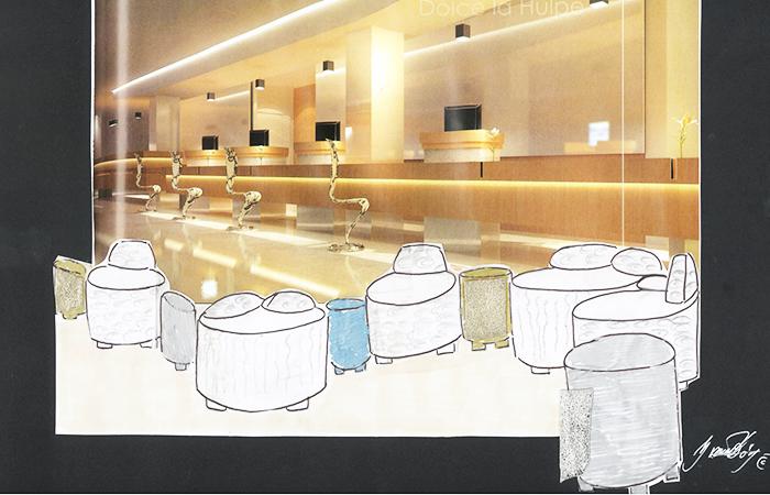 Ideas for reception hotel, Yvonne Borjesson